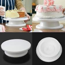 home decorating tools cake decorating tools cupcake cake rotating turntable plastic