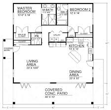 ranch house floor plans open plan house plans open floor plan home office