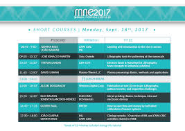 short courses u2013 mne 2017