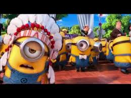 minions song ymca despicable 2