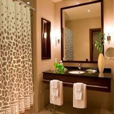 Animal Print Bathroom Decor Giraffe Print 70 Inch X 72 Inch Shower Curtain Giraffe Print