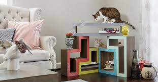 katris modern cat tree for your cat and yourself