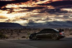 subaru black wrx car subaru impreza wrx sti subaru black cars sunset desert