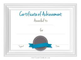 certificate of attainment template 100 images certificate of
