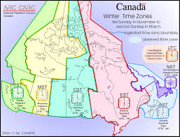 Us Times Zone Map by Map Of Time Zones Of Canada Standard Time Time Zones Of Canada