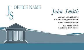 Lawyer Business Card Design Government Lawyer Vintage Business Card Design 401141