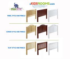 maxtrix tandem corner low loft bed bed frames matrix furniture