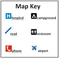 what is a map legend map key legend my