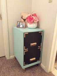 Chalk Paint On Metal Filing Cabinet with 40 High Style Low Budget Furniture Makeovers You Could Definitely