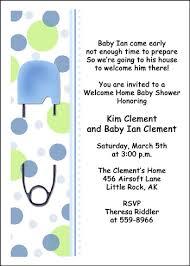 welcome home baby shower welcome home baby shower invitation wording invitation ideas