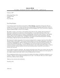 retail cover letter examples uk cover letter sample