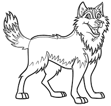 husky coloring pages wecoloringpage