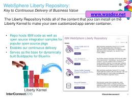 websphere application server liberty profile and docker