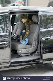 gwen stefani leaving a nail salon in west hollywood her nanny was