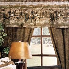 wild horses rod pocket curtains 09086000034km kimlor mills inc
