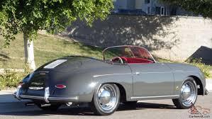 porsche slate grey metallic porsche 356 vintage speedster brand new slate grey red interior