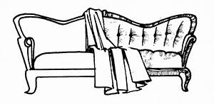 How Much Fabric To Upholster A Sofa How To Reupholster Furniture Do It Yourself Mother Earth News