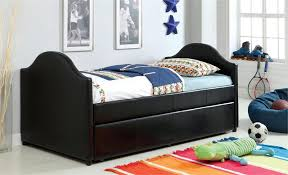 Black Twin Bed Cm1959 Cresson Black Twin Day Bed With Trundle