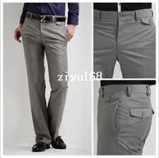 discount korean grey pants men 2017 korean grey pants men on