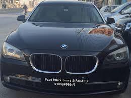 bmw car rental rent bmw 740li in lahore rentacarlahore