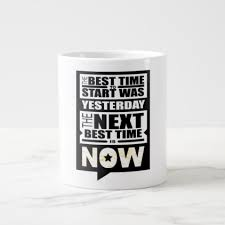 best large coffee mugs best time to start motivation quote workout gym large coffee mug