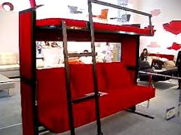 Couch That Turns Into Bed Sofa Double Decker Bed Youtube