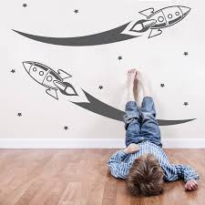 space rockets your decal shop nz designer wall art decals space rockets
