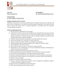 Maintenance Foreman Resume Maintenance Job Description Landscape Maintenance Supervisor Job