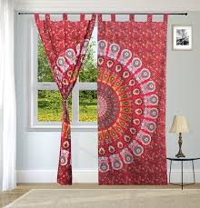 tapestry curtains bohemian u0026 hippie tapestry curtains online at
