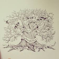 photos family tree sketches drawings gallery