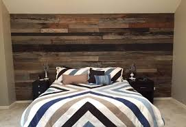 wooden wall bedroom wood accent wall bedroom blue black and grey wood panel rustic