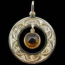 Pendant Engraving Citrine Pendant Armstrong Engraving U0026 Custom Jewelry