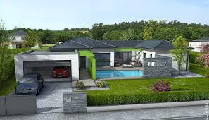 plan maison contemporaine plain pied 4 chambres plan maison moderne 4 chambres tw81 jornalagora
