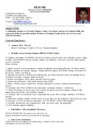 Best Resume For Network Engineer by Tejendra Bahadur Gurung Datacom Engineer