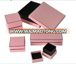 luxury bracelet box images Oem fancy paper jewelry box luxury clamshell ring box necklace box jpg