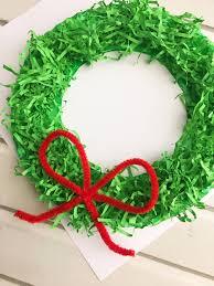 diy paper christmas wreath onion rings u0026 things