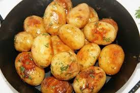 comment cuisiner les pommes de terre grenaille petites pommes de terre au miel culinaire amoula