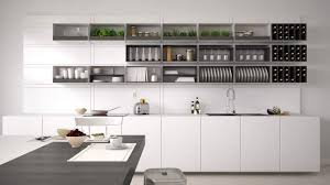 Open Shelf Kitchen by Open Kitchen Shelving Group Up The Objects On Open Shelves To