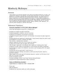 Personal Assistant Job Description Resume by Contract Senior Level Executive Personal Assistant