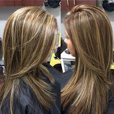 where to place foils in hair love this color partial foil highlights and lowlights and