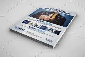 it services flyer flyer templates creative market
