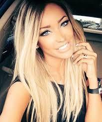 blonde hair with dark roots 100 best long blonde hairstyles long hairstyles 2016 2017