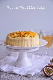 vanilla vegan cake mango u0026 passionfruit egg dairy free