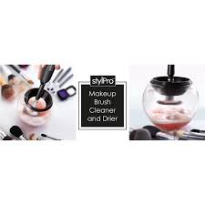 stylpro makeup brush cleaner and drier middot 1 global body art liquid white 200ml
