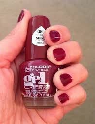 short n sweet review la colors color craze gel nail polish dollar