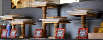 Halloween Cake Plate Stand by Diy Cake Plate Dessert Stand Make Your Own Wooden Dessert Stands