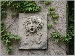 garden walls stone stone painting art for garden wall art ideas 2746 hostelgarden net