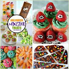 Halloween Treats Halloween Recipes Monster Treats The 36th Avenue