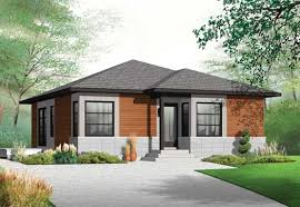 Contemporary Style House Plans Plan - 1 story home designs