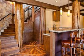 rustic bar with exposed beam by kogan builders zillow digs zillow
